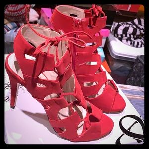 Rock & Republic Red Heels New Condition